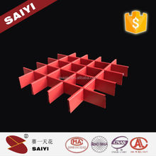 Flexible Open Grid Suspended Ceiling Tile with many kinds of Colors