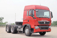 Road Construction SINOTRUK howo 6x4 tractor