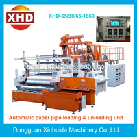 XHD-1500MM Type 3-5 layer . double , three and five layer co extrusion stretch film making machine