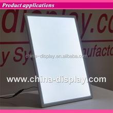 Acrylic frame desktop laser LED lighted low price tv table