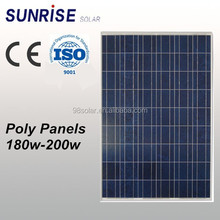 High quality pv panel Poly 200W solar panel of factory direct sale made in China