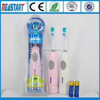 Electric Feature Double Head Rotation Toothbrush