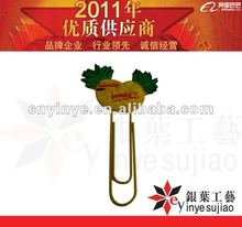 2012 Funny BookMark with Clip
