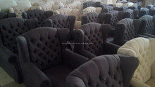 wing chair with box cushion slipcover