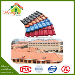 New Synthetic Resin Building Materials Sound insulation Plastic Roof Tiles