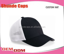 Promotional High QualityMesh Trucker cap /Fitted Cap /Mens Hats And Caps