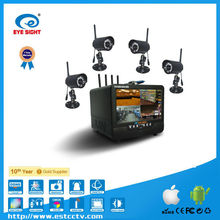 "Eye Sight (DVR704HV421W) RJ-485 PTZ Control D1/HD1 Outdoor DVR Recorder with 7"" Screen"