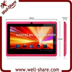 MID Q8 Allwinner A13 Capacitive Screen+Camera+WIFI Tablet PC 7 inch android tablet