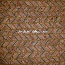 Naturale foglio di sughero per calzature rq-tx97