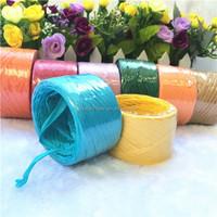 Natural paper raffia ribbon for gift Decoration raphia