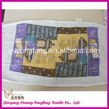 interesting china products, printing 100% cotton kitchen towel stock-lot, 100% cotton tea towel embroidered custom