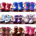 Corea del estilo de la flor encantadora Inicio Zapatos de suelo Calcetines Botas Zapatillas Invierno Foot interior más cálidas