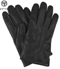 Men's Winter Warm motorcycle driving touch Screen Cashmere Lined Nappa Leather gloves