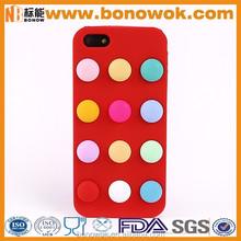 Silicone mobile phone case cute silicone cellphone cover