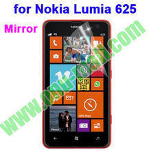 New Arrival Mirror Screen Protector for Nokia Lumia 625 (4 Styles: Clear/Mirror/Frosted/Diamond)