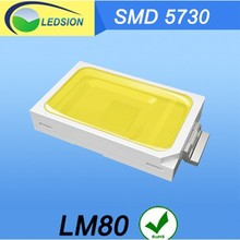 Annual promotion! high quality super bright 0.5W white 5730 SMD LED