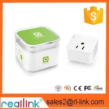 smart wifi plug socket electrical adapter to remote control switch wireless by using phone app