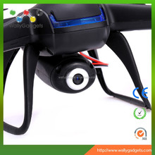 Lowest price 3D rolls 2.4G 4CH 4AXIS with gyro black quadcopter JD007 with 200W piexl camera