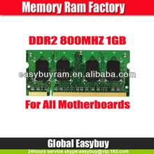 Best business partner supply good compatible all ddr2 ram memory 1gb laptop