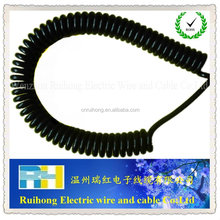 electrical flat cable electrical spiral cable and electrical wires PVC insulation flexible