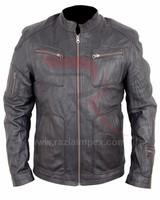 Leather Star Trek Black Leather Jacket