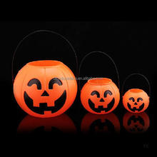 Tokelau multicolor changing light up plastic pumpkin for sale use in playground