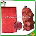 La bolsa de embalaje para la leña/l- de coser leno bolsa de malla para el embalaje de kindling/bolsa para kindling de registro