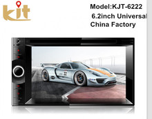 Fast delivery 2 din car dvd player with GPS/fm radio/bluetooth function