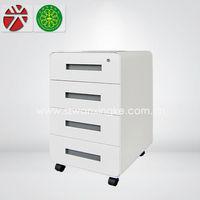 4 drawer metal/mobile/office cabinet/under desk small drawer/cabinet furniture