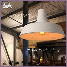 Designer lamps simple luxury restaurant innovative American vintage chandelier hanging gardens gray cement plaster