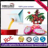10 Times Litchi & Dragon Fruit Juice Concentrate Fruit Syrup For Bubble Tea