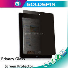 GOLDSPIN Hot selling anti spy glass screen protective film for iPad air2