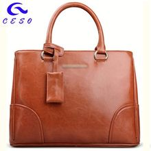 The newest graceful style nucelle lady genuine leather handbags