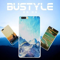 Hard case for HUAWEI honor 6 6Plus with Literature painting design custom covers