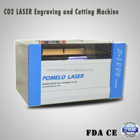Bamboo Rubber stamps Laser Cutting Carving Machine