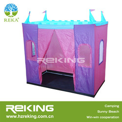 castle shaped kid play tent