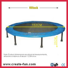 """CreateFun 60"""" best quality mini trampoline bed cover padding for kids"""