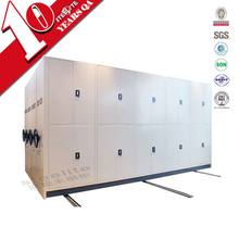 knock down movable steel filing system / large mobile cabinet for master file storage