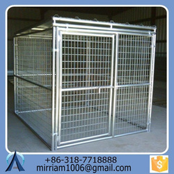 Made in China dog kennels cages/ dog runs, chain link dog carriers/ dog crates