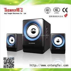 Hot Sell !! computer speaker 2.1 subwoofer, active computer multimedia woofer speaker,2.1 Multimedia Speaker TF-809