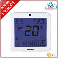 Weeek programável piso aquecimento termostato usado para aquecedor elétrico de água 3A / 16A / 25A