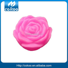 Battery operated flowers with led lights flower shape led light wather response reaction flower