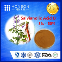 salvia extract / Chinese Red Sage p.e Salvianolic Acid B for health food supplement