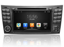 Android system For Mercedes E-Class W211 car dvd gps touch screen dvd player gps