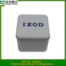 design your own watch tin box/unique watch box/ decorative watch tin box