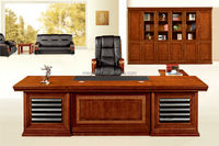 Top Selling Wood Veneer MDF Executive CEO Table(FOHS-A2892)