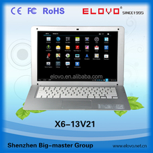 13..3 inch Android netbook cheapest highest-technology 1.5GHZ Android netbook computer dual core wifi bluetooth 13.3inch netbook