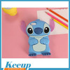 Wholesale personalized cheap with your branding lovely animal shape silicone phone case