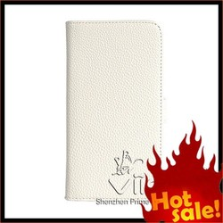 High Quality Genuine Leather Phone Case For Samsung Galaxy With Lichee Pattern Design
