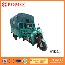 High Speed Water Cooled Gasoline Cargo Chinese 250CC Trike With Canvas
